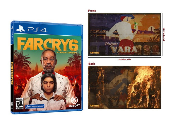 Farcry 6 pre-order bundle from Walmart with premium cloth banner.