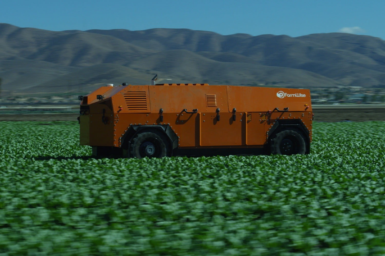 farmwise weed killing robot robot3