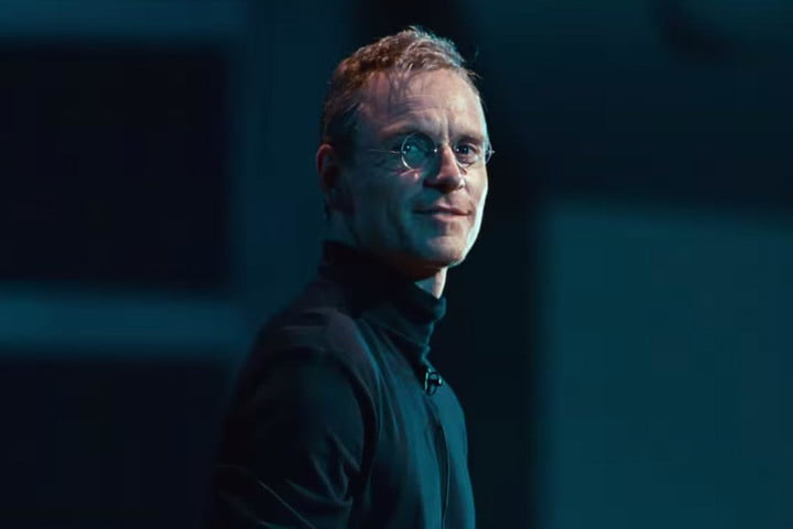 one place you wont find the steve jobs trailer apples site fassbender as