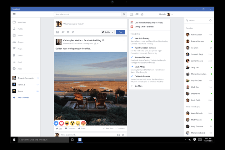 you can now use facebook live on your windows 10 desktop or tablet version 1464390547