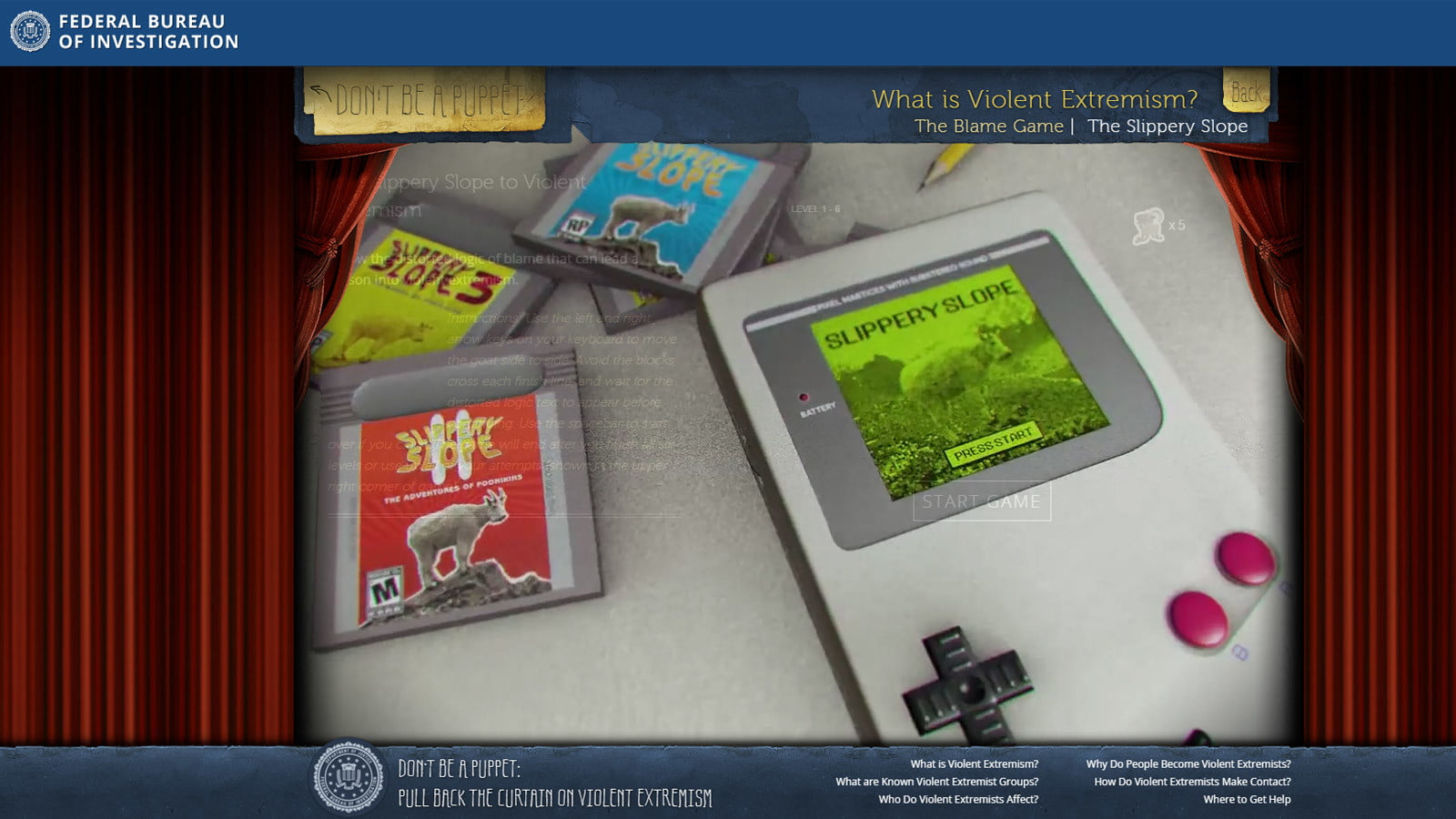 fbi anti extremism site targets teens but misses the mark fbisite02