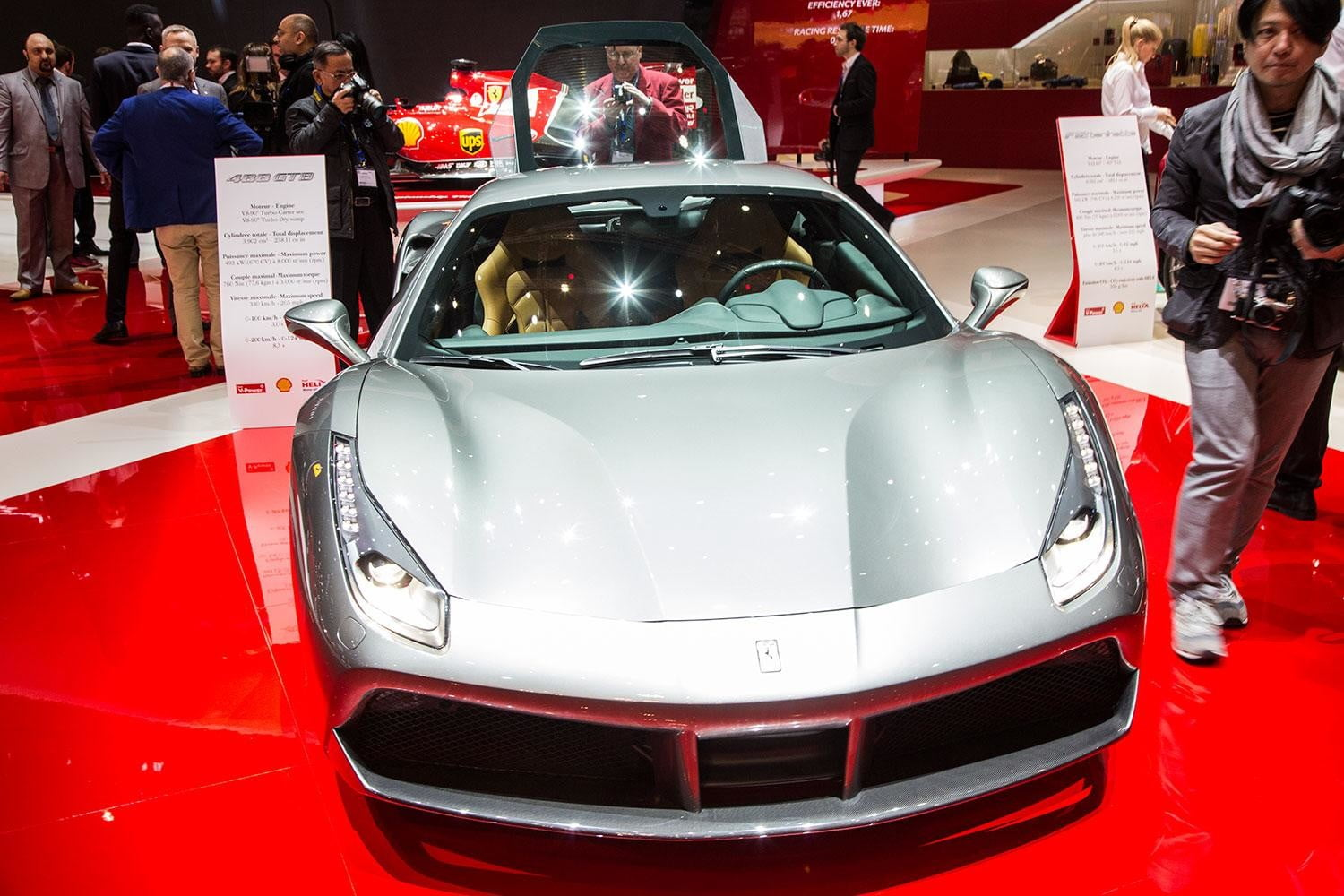 ferrari 488 gtb official pictures performance and specs 4