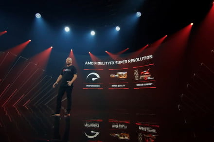Super Resolution dramatically increases frame rates, but doesn't require AMD GPU