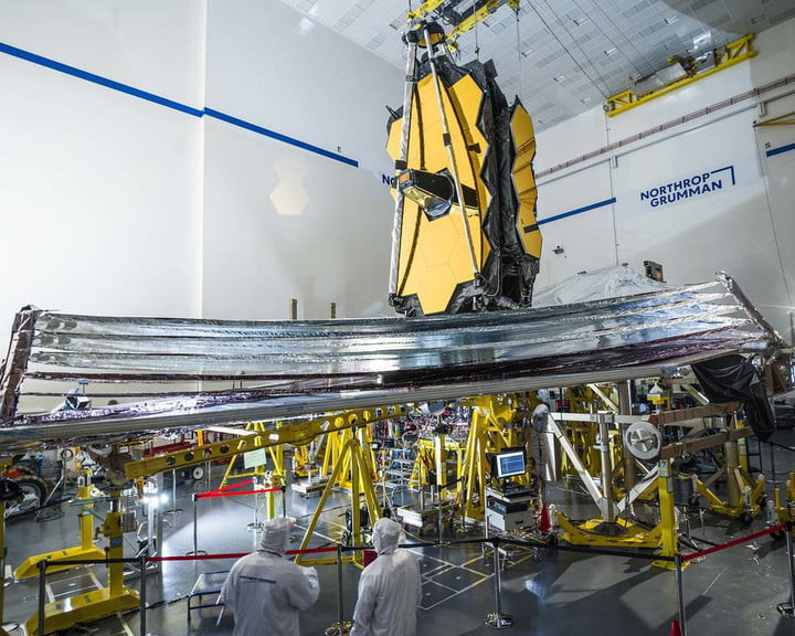 To help ensure success, technicians carefully inspect the James Webb Space Telescope's sunshield before deployment testing begins, while it is occurring, and perform a full post-test analysis to ensure the observatory is operating as planned.