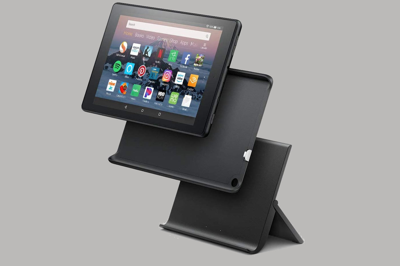amazon slashes the prices on fire 7 and hd 8 tablets plus kids editions tablet show mode charging dock 4  1