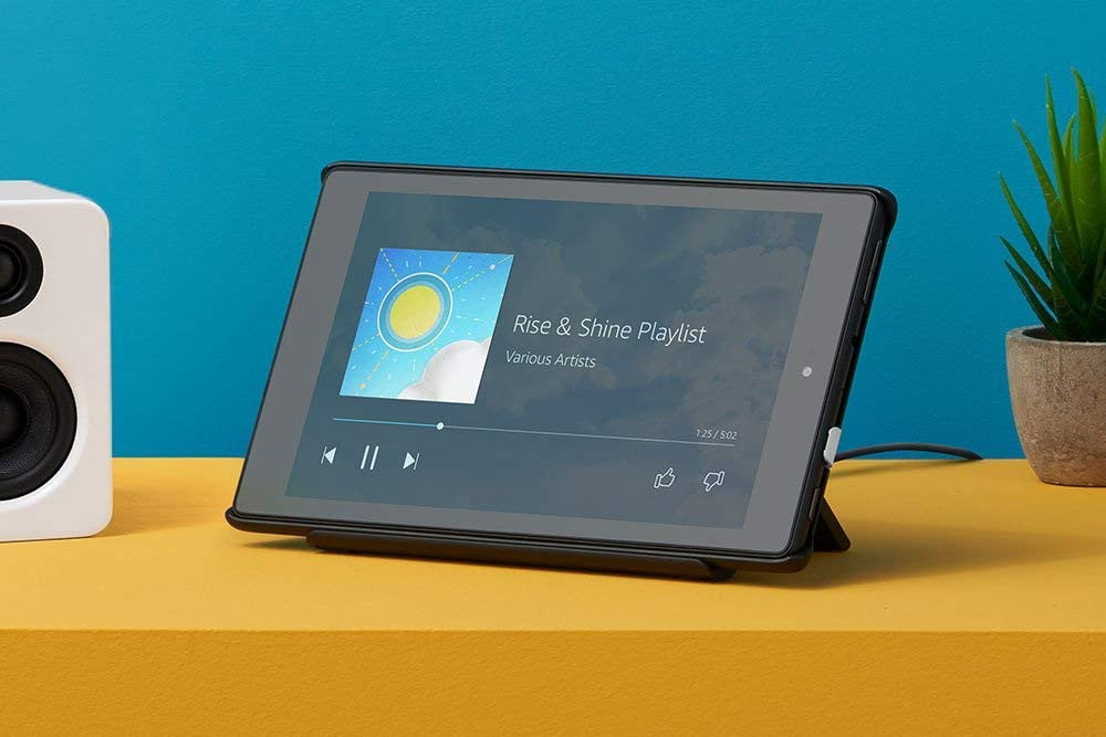 amazon slashes the prices on fire 7 and hd 8 tablets plus kids editions tablet show mode charging dock 6  1