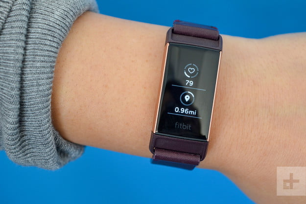 fitbit charge 3 face