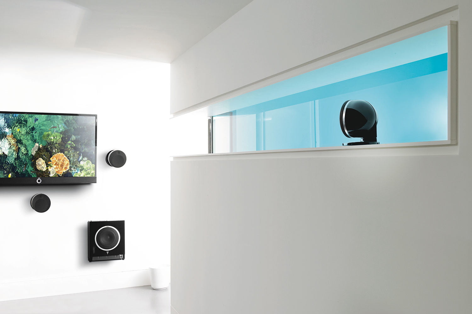 focal 512 dome flax speaker system dolby atmos dtsx ceiling 0