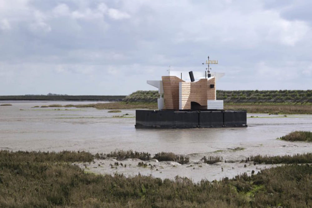floating home collects temperature moisture data floathome1