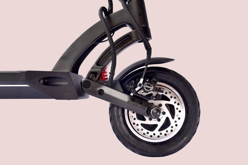 be the fastest standing commuter in town with 40 mph mantis e scooter fluidfreeride electric 10