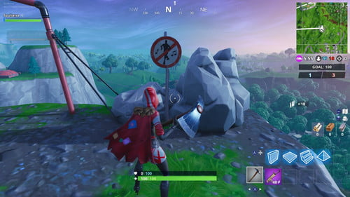 Where Are The Forbidden Dance Places In Fortnite Season 7 Fortnite Week 1 Challenges Forbidden Dance Locations Guide Season 7 Digital Trends