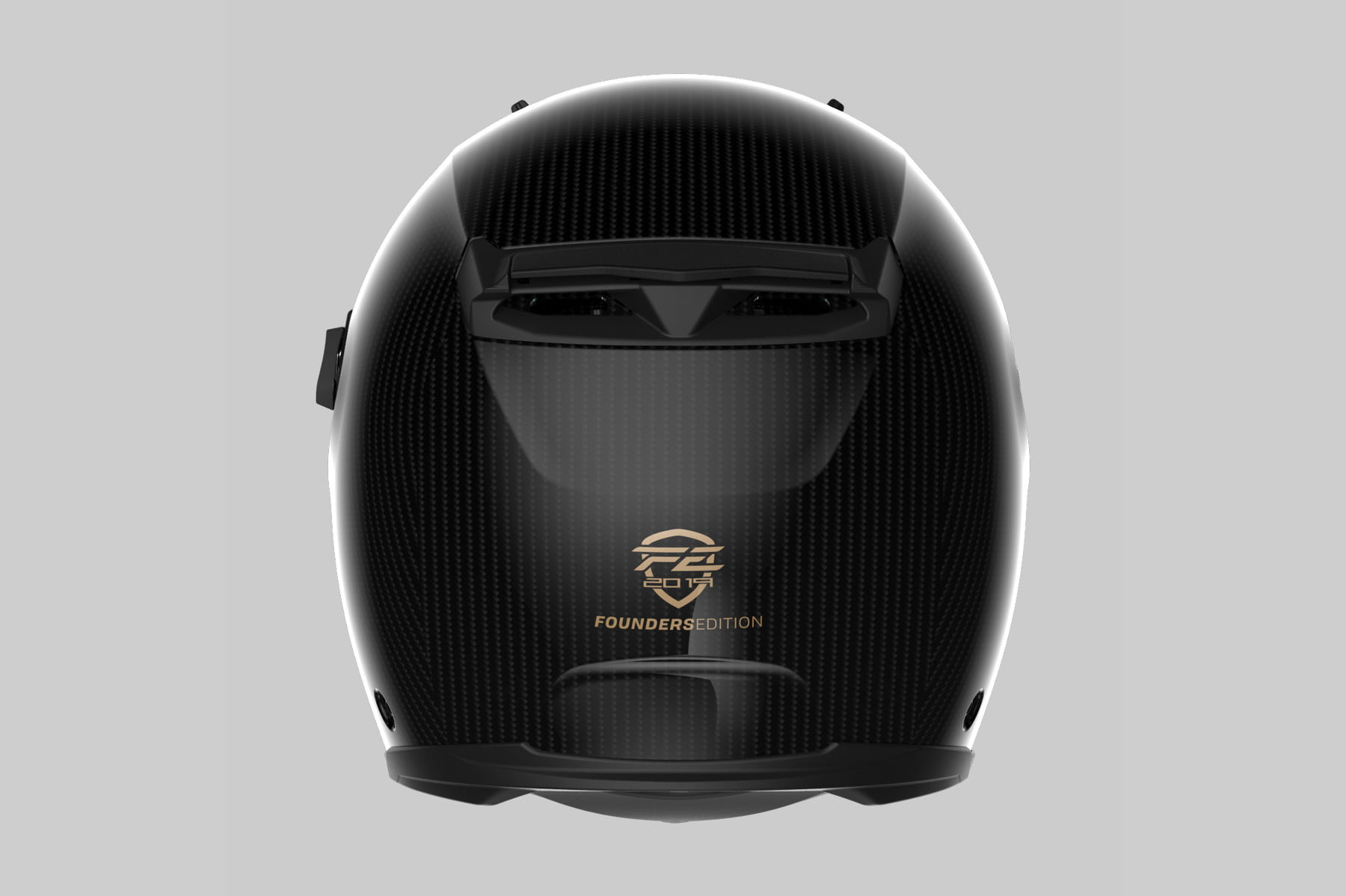 australian forcite mk1 smart motorcycle helmet coming next to us back gloss  1