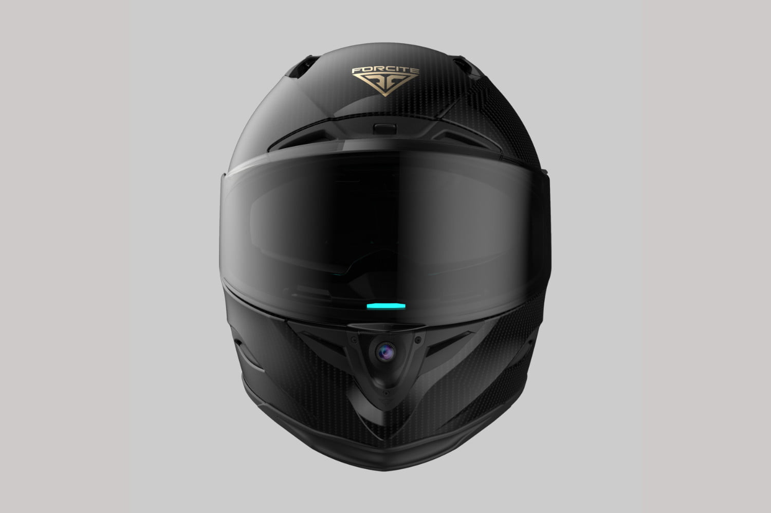 australian forcite mk1 smart motorcycle helmet coming next to us front hero  1