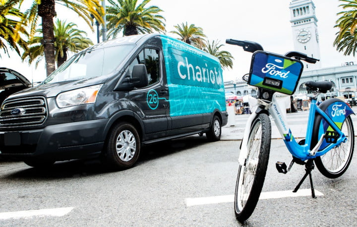 chariot halts operations ford and gobikes