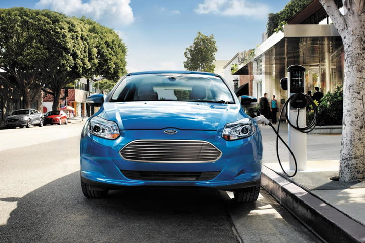 Just plug in that EV anywhere Ford Focus Electric