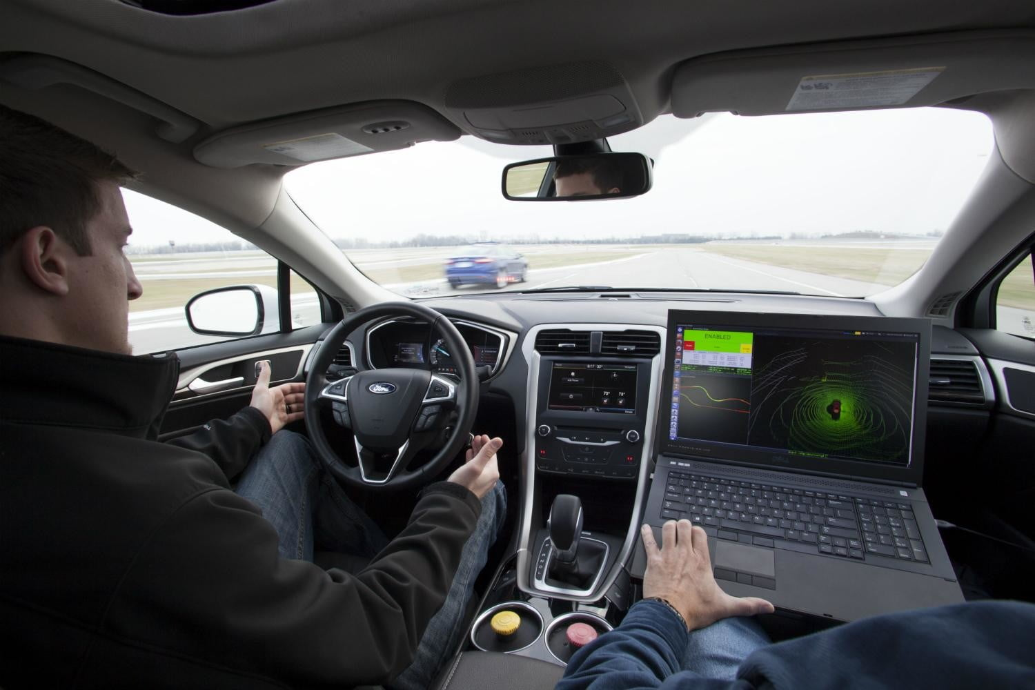 ford releases fusion hybrid research vehicle will explore autonomous driving tech 2
