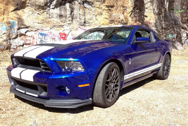 2013 ford shelby mustang gt500 review gt 500 front left angle 800x600