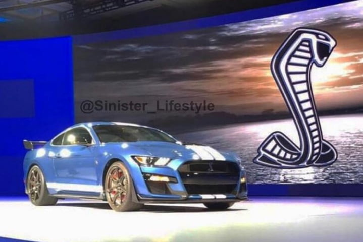 Ford Shelby Mustang GT500 leak
