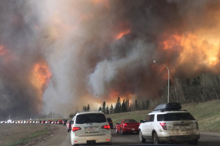 drones wildfires fort mcmurray