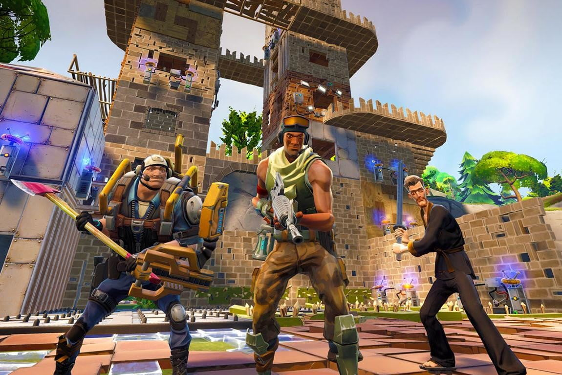 build will come wreck see fortnite gameplay developer commentary