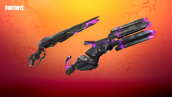 New weapons in Fortnite.