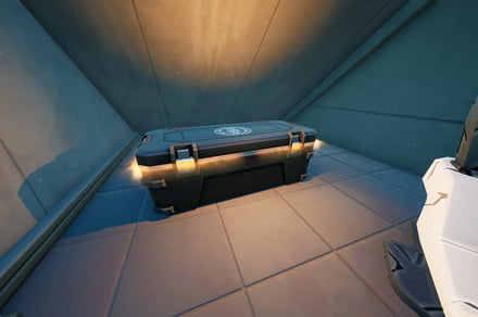 Fortnite challenge guide: Open an IO chest at a satellite station or Corny Complex