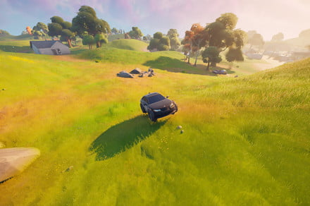 Fortnite challenge guide: Drive an IO vehicle with off-road tires