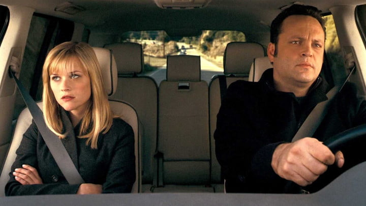 Reese Witherspoon and Vince Vaughn in Four Christmases