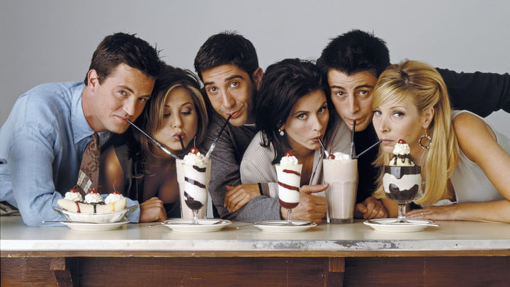 Friends on HBO Max