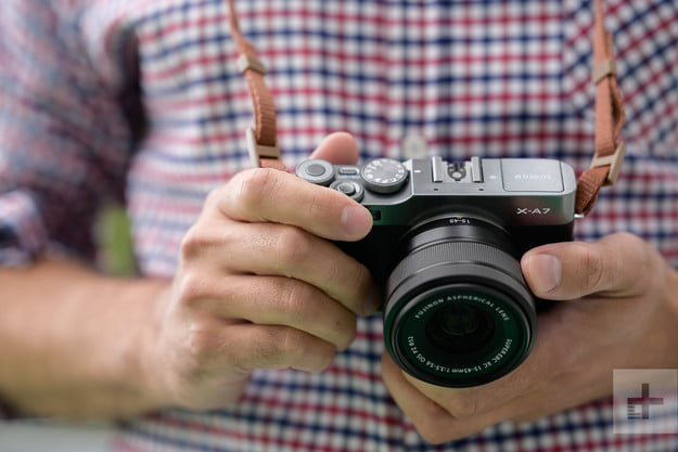 fujifilm x a7 review dm 8 in hand