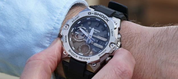 casio g shock steel gst b400 hands on features price photos release date buttons