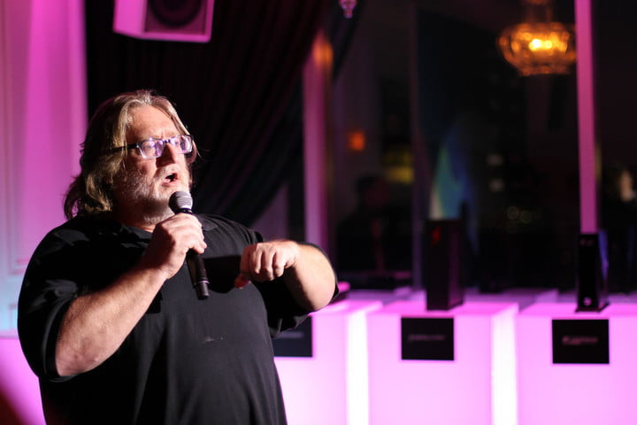 native steamvr games unity gabe newell  steam machines reveal