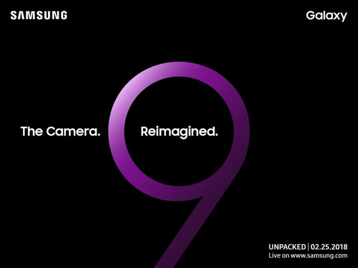 five features to see samsung galaxy s9 mwc2018 invitation
