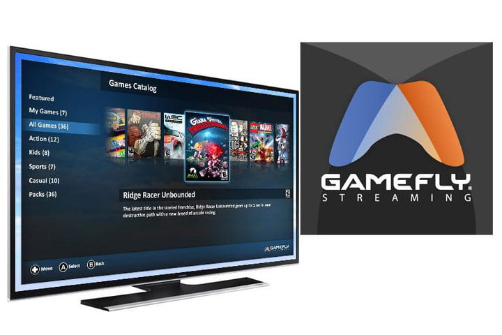 GameFly Streaming comes to Samsung Smart TVs