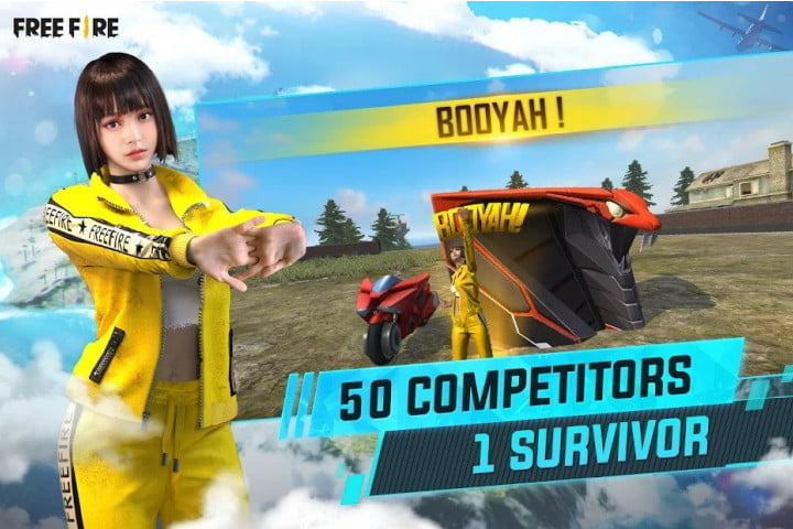 Garena Free Fire Booyah Day edition on Android.