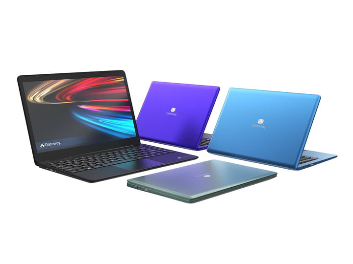 Gateway 14-inch Laptop in many color configurations.
