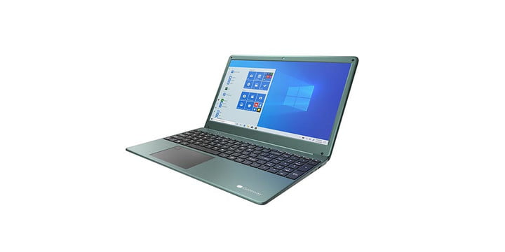 Gateway 15.6 FHD Ultra Slim Notebook on a white background.