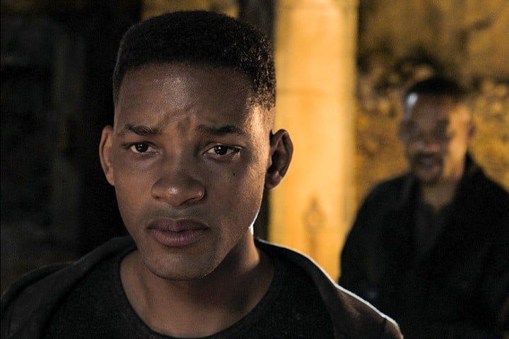 Will Smith as Gemini Man Junior vs Henry in the Catacombs