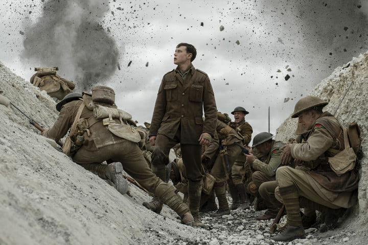 George MacKay as Schofield in a trench | 1917 VFX