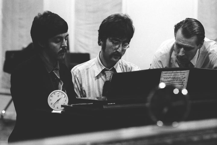 the beatles anthology hits streaming services george martin 9