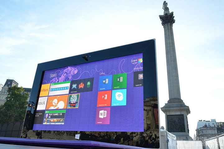 microsoft giant surface 2 and product placement pro london verge