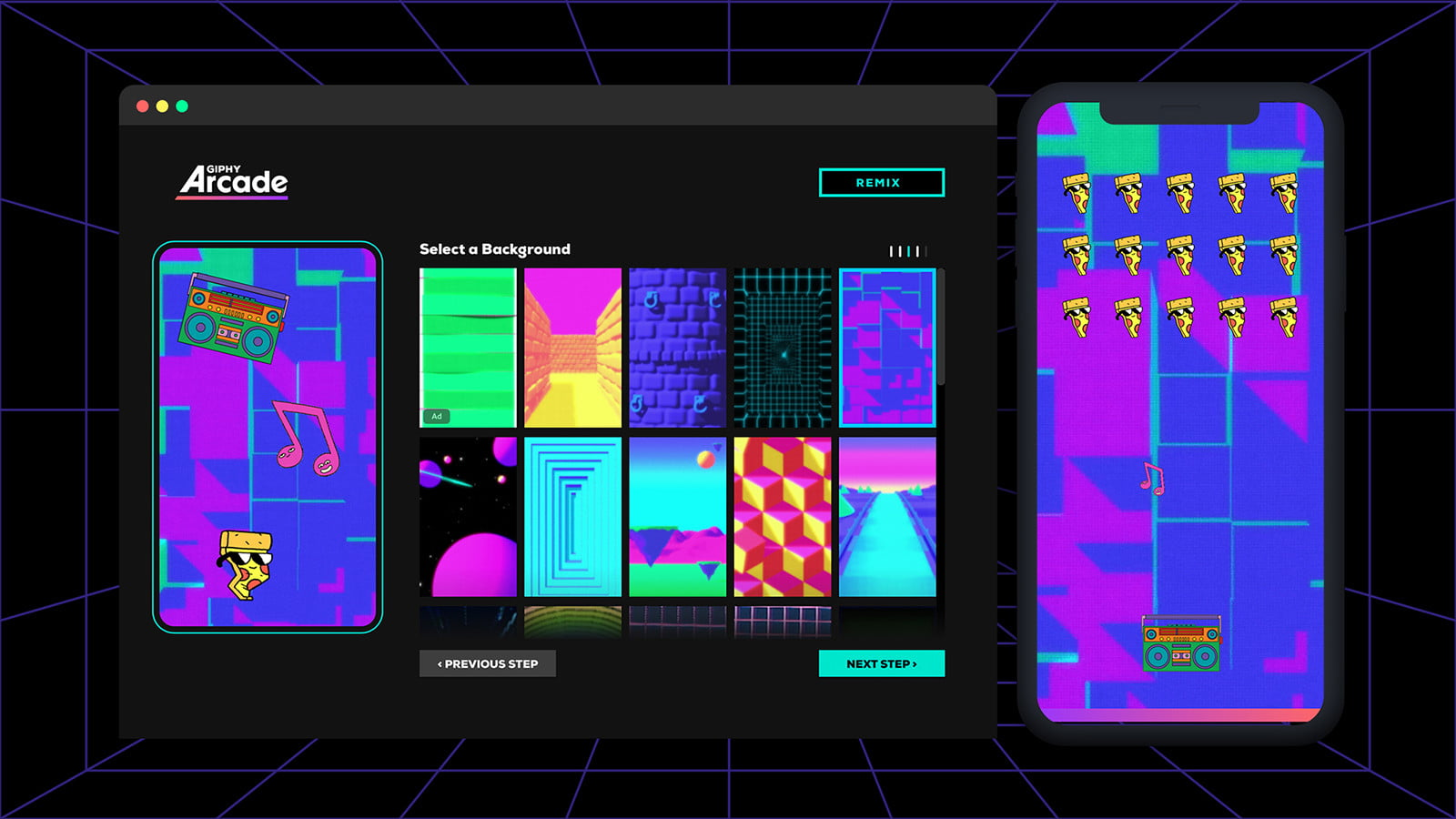 giphy arcade launches customization v2