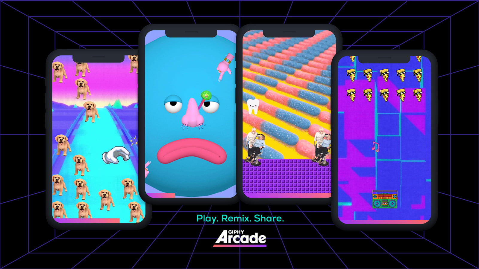 giphy arcade launches gametypes v6