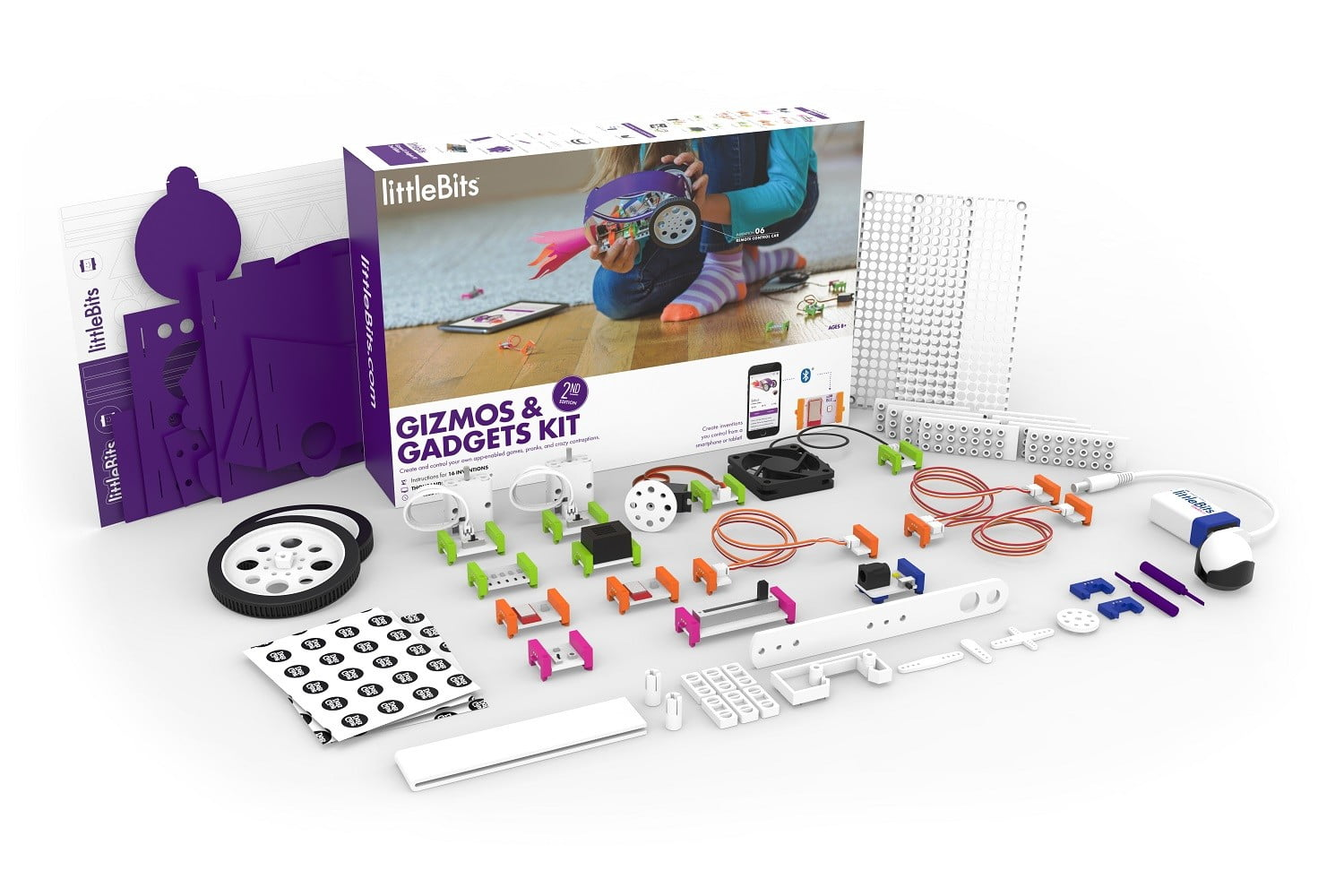 littlebits bluetooth gizmos gadgets 2nd edition product image