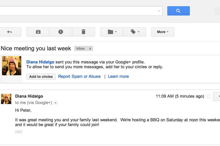 now anyone can email using google gmail