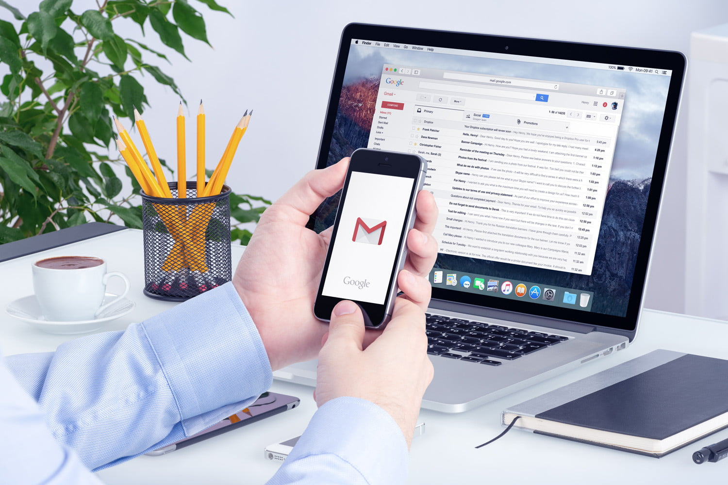 how to change your gmail picture