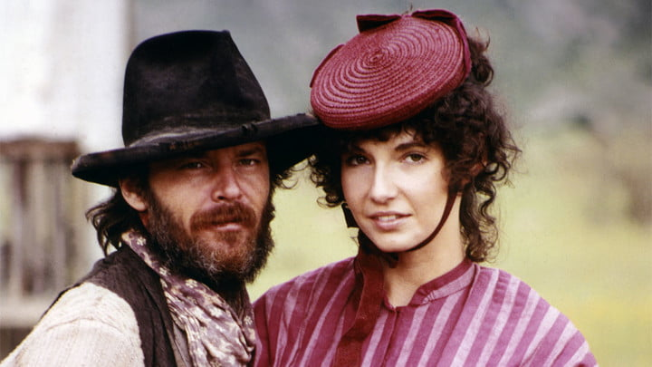 Jack Nicholson and Mary Steenburgen in Goin' South.