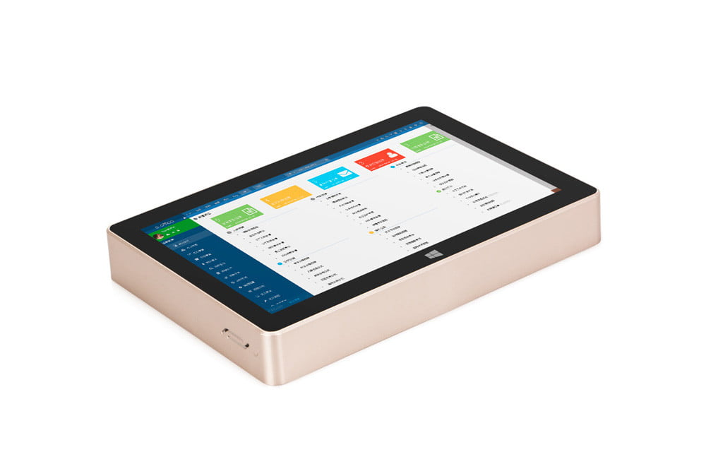 gole1 plus mini pc with display doubles as tablet