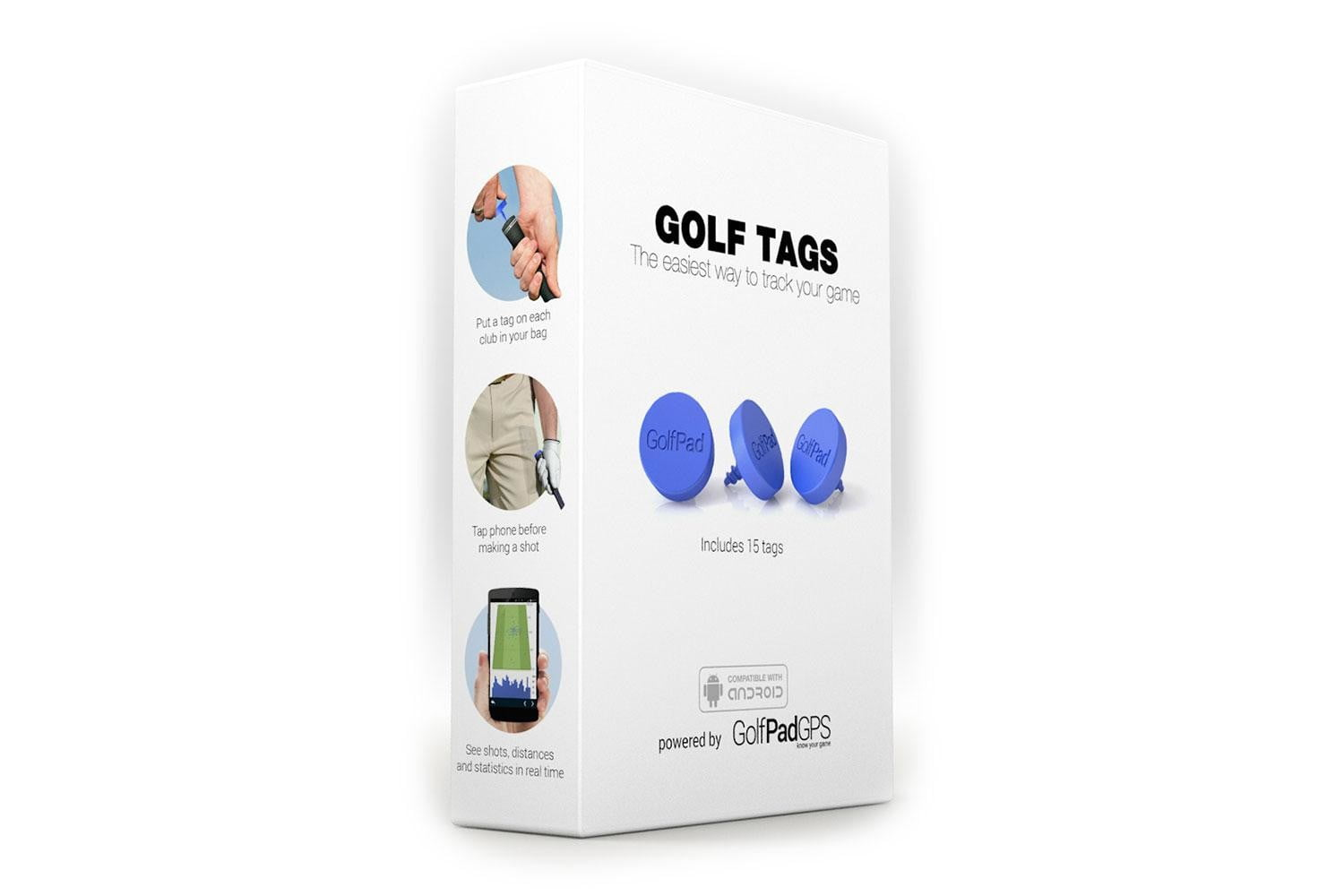 make your golf clubs smart with these little tags pad 4
