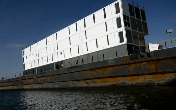 google barge to leave san francisco bay for new home still unfinished